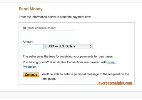 send money done